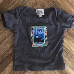 Other - Grey snow humor tee 6-12 month